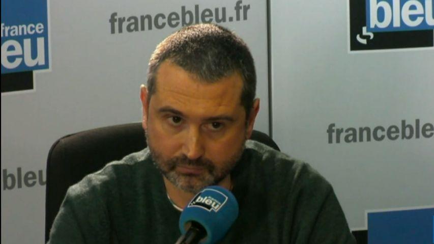 """Julien Pontes, porte-parole du collectif """"Rouge direct"""""""