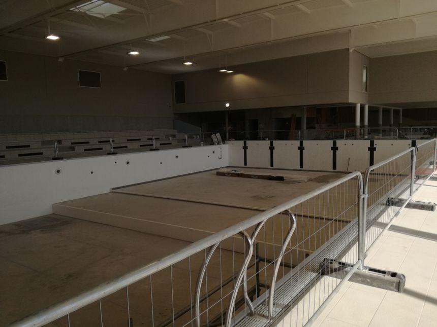Le bassin sportif de 25 mètres comptera 6 lignes d'eau