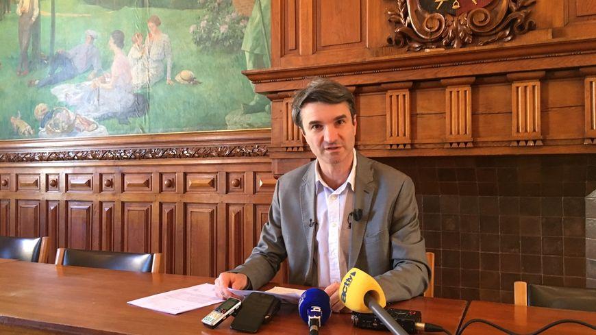 Marc Petit lors de son point presse ce vendredi 15 février.