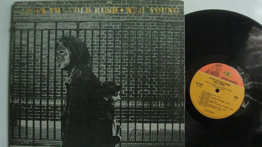 NEIL YOUNG Album  After the gold rush sorti en 1969