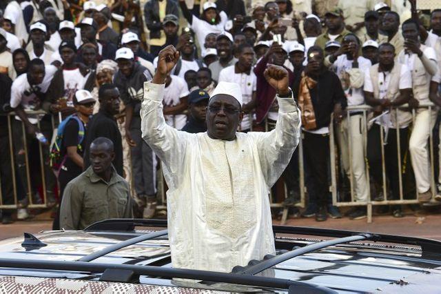 Macky Sall, le président sortant du Sénagal