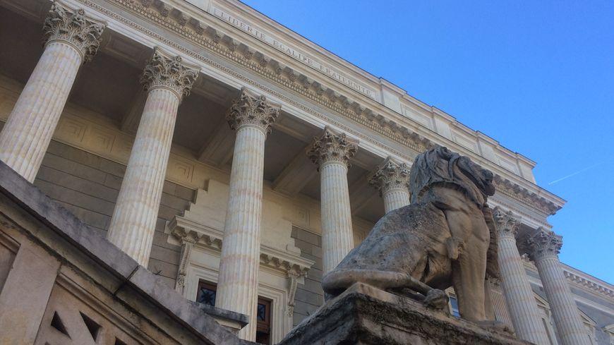 Le palais de justice de Saint Etienne