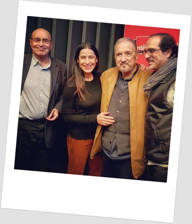 Michel Cassé, Nahal Tajadod, Jean-Claude Carrière et Atiq Rahimi