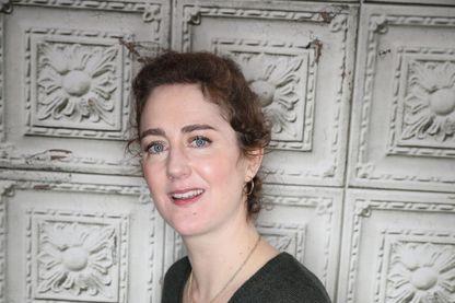 """La comédienne et réalisatrice Joséphine de Meaux au Festival de l'Alpe d'Huez le 18 janvier 2019 pour présenter son film """"Les petits flocons""""."""