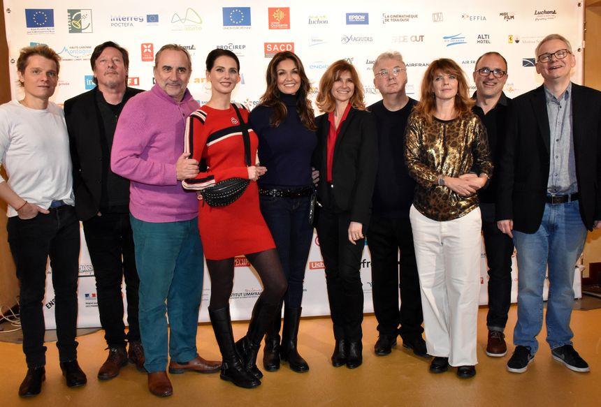 Le jury fiction 2019 à Luchon présidé par Dominique Besnehard