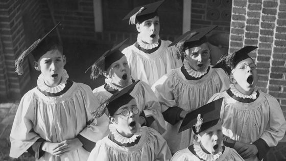 Un chœur d'enfants