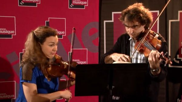 Sarah Nemtanu et Marc-Olivier de Nattes jouent Bartók et Armin Kaufmann
