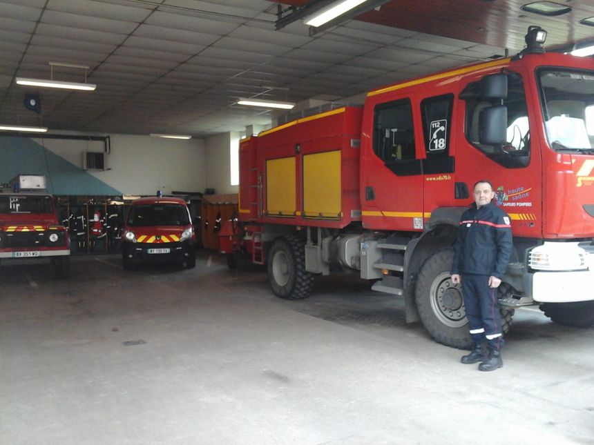 Frédéric Ribard, chef de centre et fretin de toujours, des sorties d'hier aux sorties de pompiers