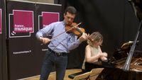 Grieg | Sonate pour violon et piano n° 3 (Deuxième Mouvement) par Svetlin Roussev et Elena Rozanova