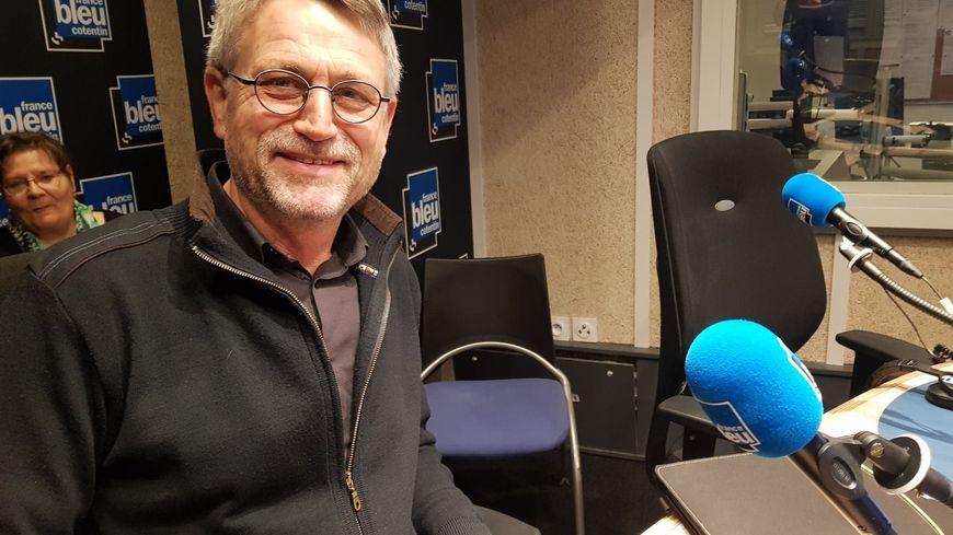 Yves Néel, président du comité de défense des riverains de la Nationale 13