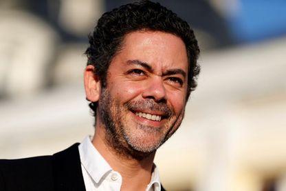 L'humoriste, acteur, réalisateur, scénariste et animateur de radio et de télévision, Manu Payet, le 16 juin 2017 lors du Festival du film romantique de Cabourg