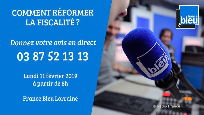 France Bleu Lorraine vous donne la parole ce lundi sur les impôts