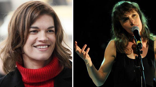 Marie-Sophie Ferdane © Jean-Claude LOTHER-Merlin Productions–FTV / Emily Loizeau © Guillaume Souvant. AFP