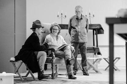 """Aurore Auteuil : """"Je rêvais de jouer avec mon père depuis tellement longtemps"""" / """"Le Malade imaginaire"""" : Aurore Auteuil, Daniel Auteuil, Alain Doutey"""