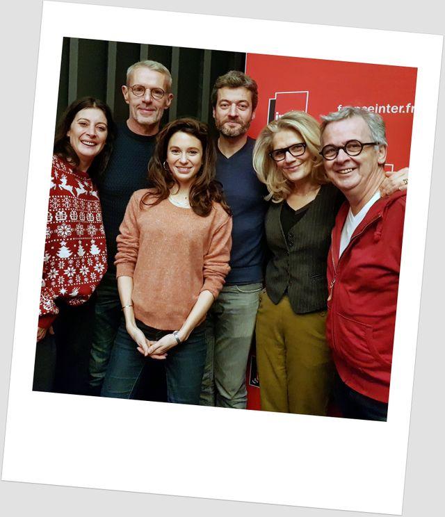 Marie-Agnès Gillot, Lambert Wilson, Pauline Cheviller, Jean-François Julliard, Jane Villenet et Bruno Fontaine