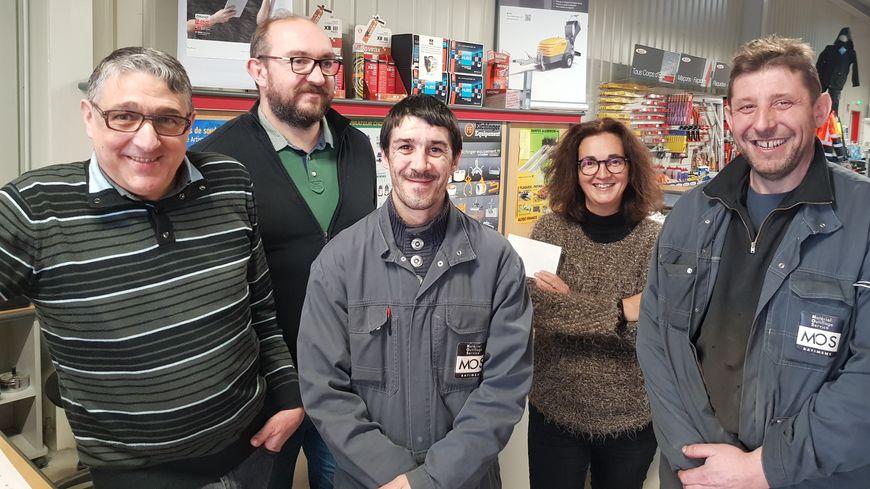 L' équipe MOS de Limoges est aux services des professionnels du bâtiment