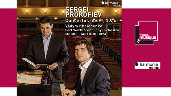 Sergei Prokofiev - Concertos nos. 1,3 & 4