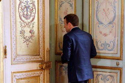Emmanuel Macron, le 22 septembre 2017, à l'Élysée.