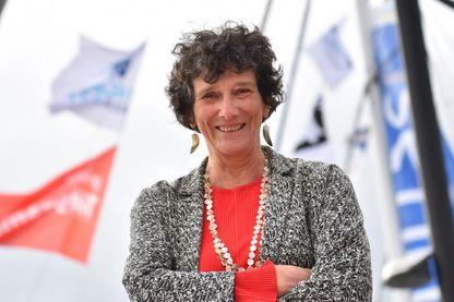 Isabelle Autissier, navigatrice, écrivain et présidente du WWF-France, le 1er novembre 2018, à Saint-Malo