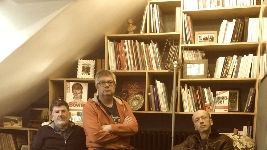 De g. à d.: Dominique Rieffel, Jean Pierre Barbe et Philippe Doléjal