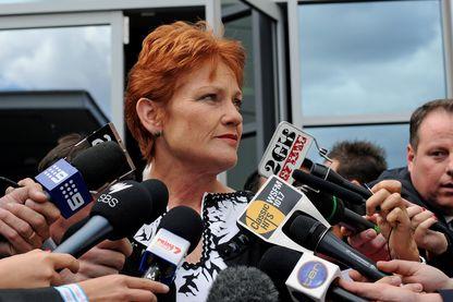 La chef de l'extrême-droite Pauline Hanson accuse un sénateur de harcèlement sexuel.