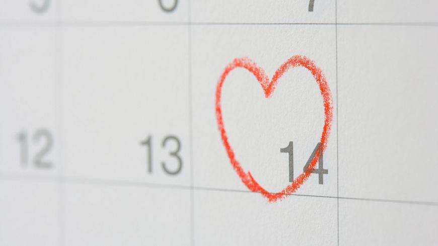 Le 14 février, c'est le jour de la Saint-Valentin, la fête des amoureux.