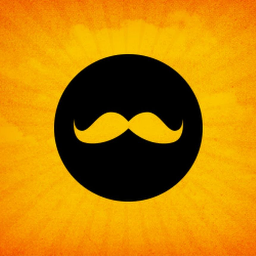 Logo Golden Moustache