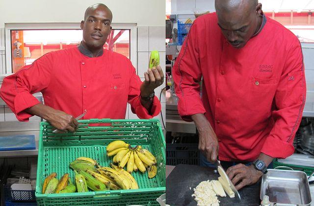 Le risotto de banane par Jimmy Bibrac