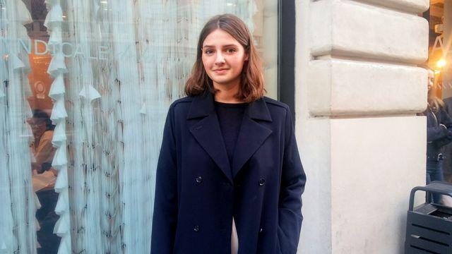"""Maya, 21 ans : """"C'est une perte importante pour le milieu de la mode."""""""