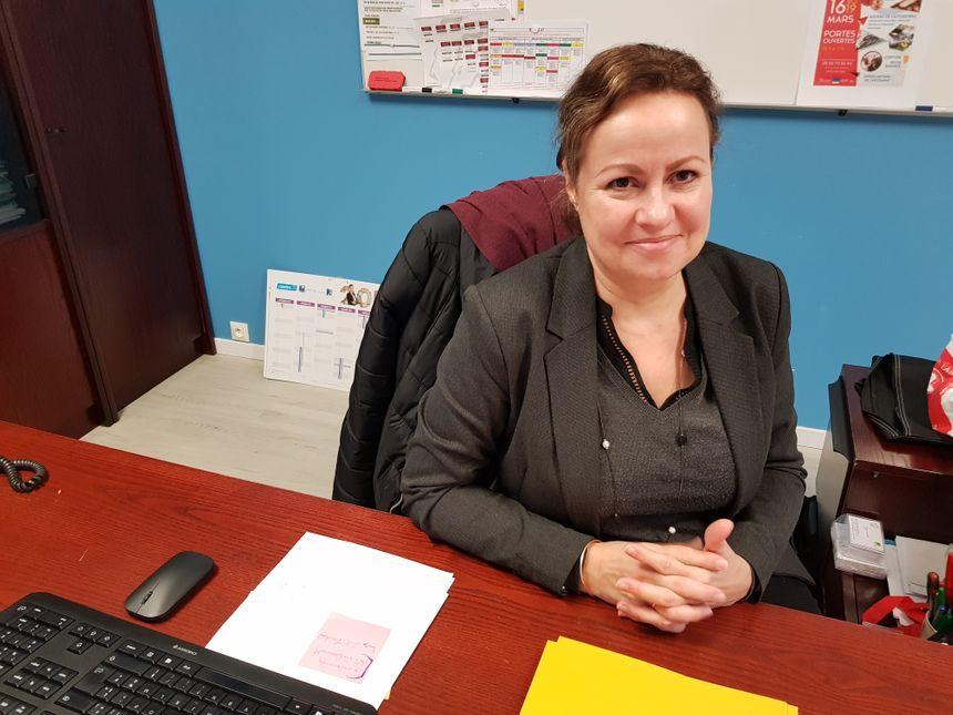 Delphine Saiveau, la directrice du CFA du Moulin Rabaud à Limoges