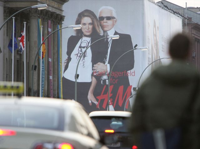 H&M s'associe à Karl Lagerfeld en 2004