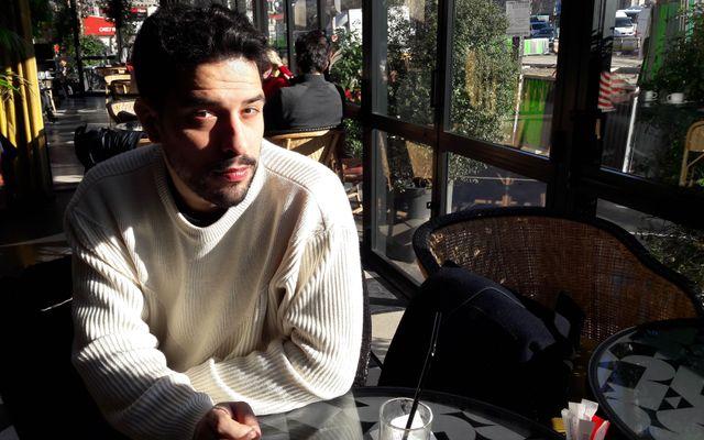 Simone Tondo, le chef du restaurant Racines à Paris