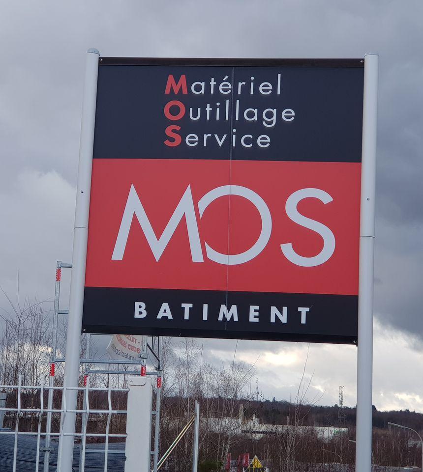 L' enseigne MOS Bâtiment est présente au nord de Limoges en zone industrielle