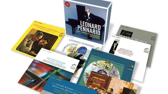 Léonard Pennario - the Complete Rca Album Collection SONY