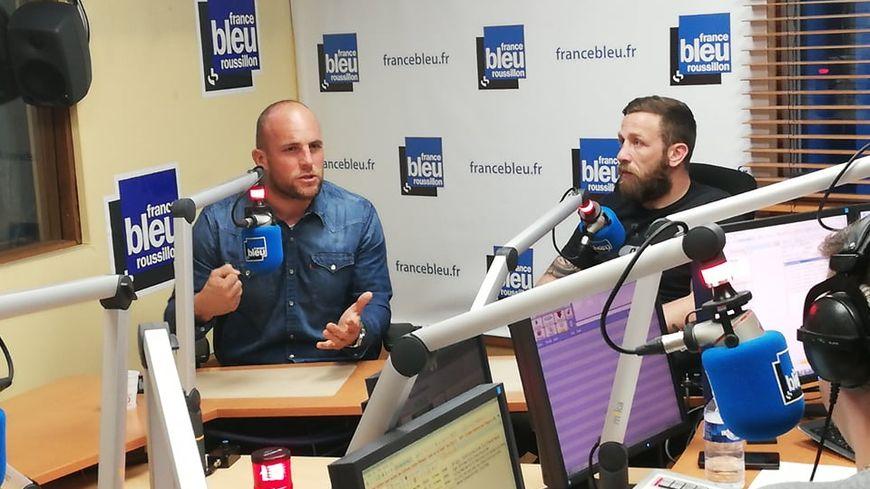 Mathieu Acébès et David Mélé sur France Bleu Roussillon