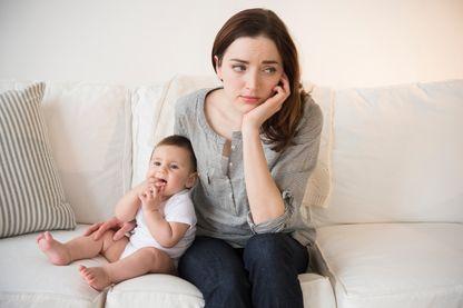 Le baby blues, la dépression passagère de la jeune maman