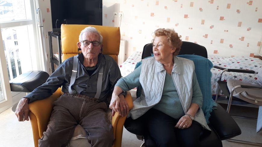 Edouard et Janine Preux, 70 ans d'union et de partage
