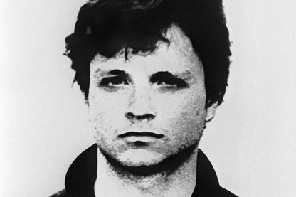 Photographie de Roberto Succo alias André daté du 28 Février 1988 (photo de policier)