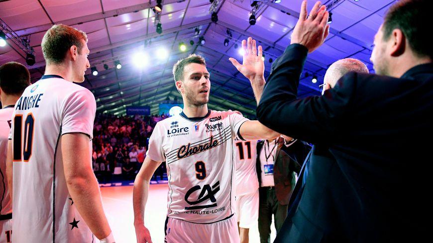 Clément Cavallo et la Chorale vainqueurs de la Leaders Cup il y a quinze jours.