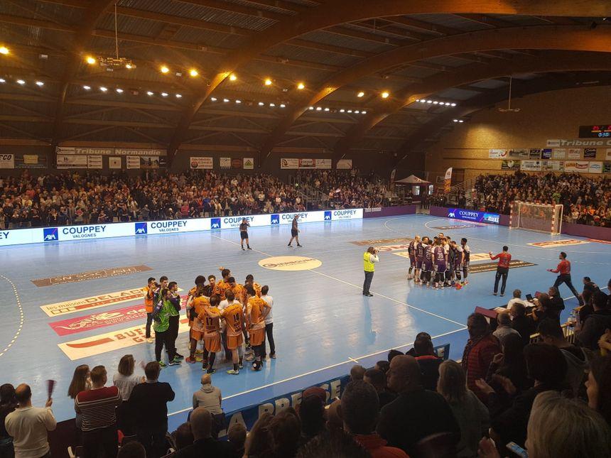 La salle Chantereyne accueille les matchs de la JS Cherbourg