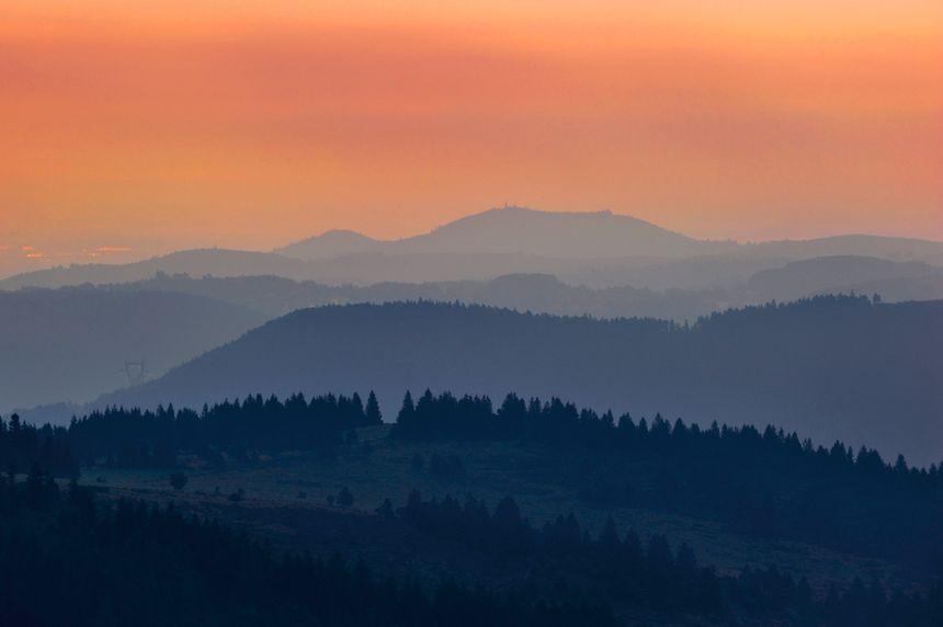 Vue du massif des Vosges : les habitants du Grand Est aiment les paysages de leur région.