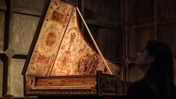 Un clavecin de Giovanni Baffo de 1574 à Londres