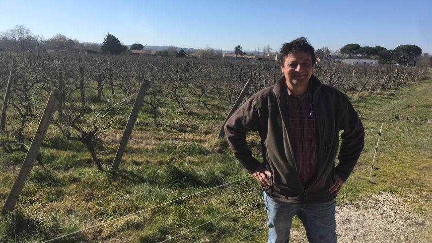 Frédéric Ribes, président du syndicat des vins de Fronton, n'utilise déjà plus de glyphosate dans ses vignes.