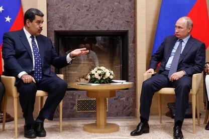 La dernière rencontre Poutine Maduro en décembre dernier