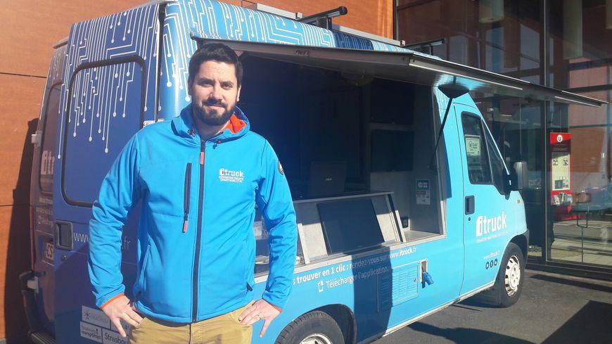 Bas-Rhin : un camion sillonne le département pour réparer vos smartphones