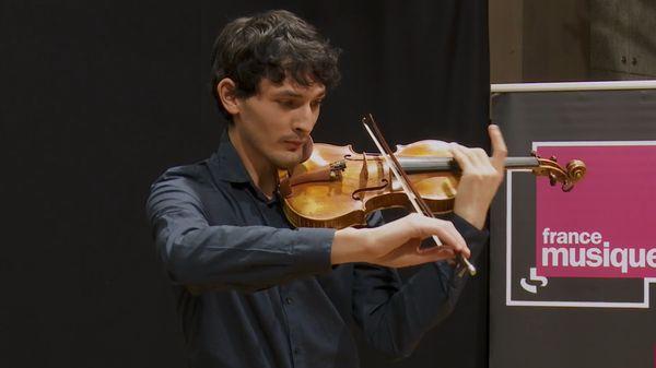 Pietro Locatelli | Caprices pour violon n° 6, 7 et 8 par Gabriel Tchalik
