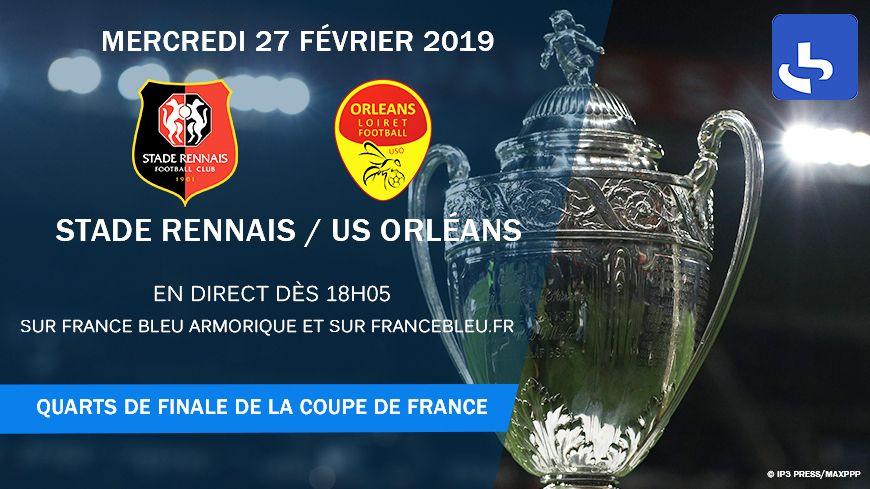 Rennes/Orléans, match à vivre en direct sur France Bleu Armorique.