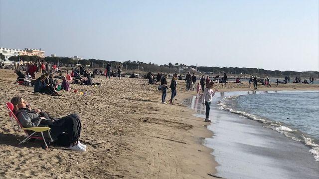Les plages du Grau-du-Roi ont fait le plein ce week-end.