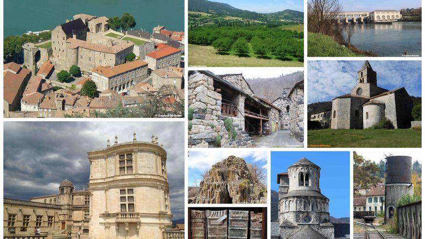 Les Patrimoines de la Drôme et de l'Ardèche