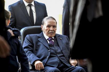 Abdelaziz Bouteflika en 2017